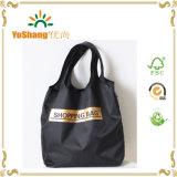 Reuseable Folding Polyester Nylon Tote Bag