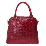 Woven Genuine Leather Women Handbags (EF101575)