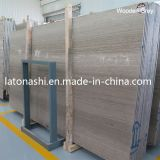 Natural Polished Grey Wood Veined Marble Slab, Serpeggiante Marble Tiles