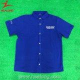 Healong Custom Cotton 100% Fashion Blue Polo Shirt
