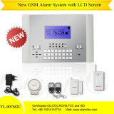 Wired Free GSM Alarm Security Alarm with Auto-Dial