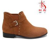 Sexy Buckle Rivet Ankle Boots for Fashion Women (AB607)