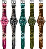 2014 Colorful Watches, Fashion Camouflage Watches, 2013 Hot Sale Silicon Watches