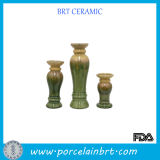 Artistic Tall Ceramic Candle Holder