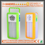 Portable LED Emergency Light with LED Flashlight, Dimmable Switch (SH-1965)