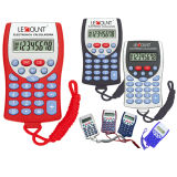 8 Digits Pocket Calculator with Hanging Cord LC311
