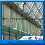 Jumbo Size Clear Skylight Toughened Glass