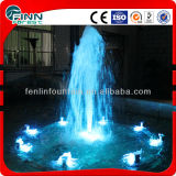 Tower Nozzle Ball Fountain with Colorful LED Light