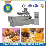 puffed snack food with peanut butter filling production extruder
