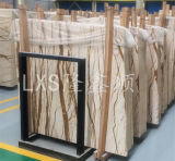 Polished Natural Golden Marble Floor Tile