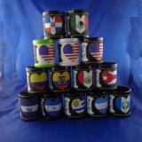 Custom Country Flag PVC Mug Cup, Plastic Mug Cup
