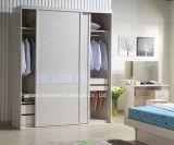 Wooden 2m Customized Inside Sliding Wardrobe Closet