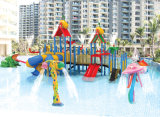 Factory in China Hot Sale Water Park with Slide