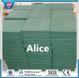 Square Rubber Floor Tile/Rubber Stable Tiles/Outdoor Rubber Tile
