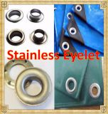 Stainless Eyelet Stainless Button Stainless Grommet for Tarpaulin/Tent