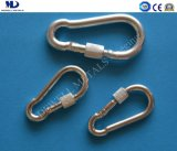 Galv. DIN5299 Form D Snap Hook with Screw