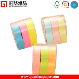 Logo Printed Sticky Note Rolling Colorful Sticky Note