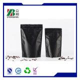 Aluminum Foil Coffee Zipper Bag Stand up Zipper Coffee Pouch