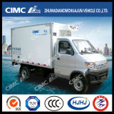 High Quality Cimc Huajun 4*2 Refrigerated Mini Vehicle