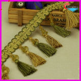 Acrylic Bead 11.5cm Tassel for Home Textile