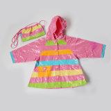 PVC Kids Waterproof & Wind Breaker Raincoat (SM-W1014)