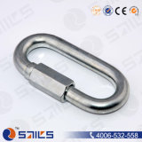 Commercial Type Zinc Plated Quick Link with Screw