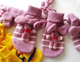 OEM High Quality Knitted Children's Winter Glove