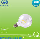 G125 6W Dimmable Filament Bulb