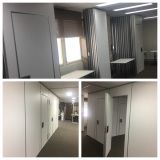 Operable Partition Walls for Office
