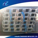 Trailer Usage GB JIS Standard Hot Rolled Steel U Channel