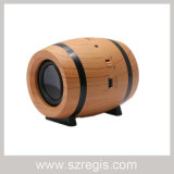 Dual Horn Mini Beer Barrels Retro Bluetooth Speaker