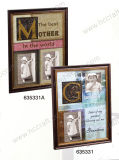 Mat Photo Frame in Multiple Openning for Wall Decoration
