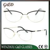 New Design Metal Glasses Eyewear Eyeglass Optical Frame Double Color Frames 9020