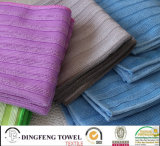 Wholesale Quick Dry Soft Yarn Dyed Kitchen/Floor/Table/ Furniture/ Car/ Tea Towels for Household Df-8835
