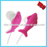 Lovely Dolphin Carton Earphones (10P136)