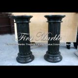 Black Marble Column for Home Decoration Mcol-314