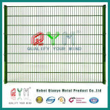 Double Wire Security Fence /Galvanized Welded Double Wire Fence