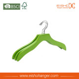 Wave Green Wooden Clothes Hanger for Shirt