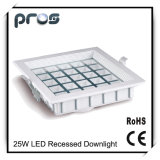 25W Recessed LED Downlight for Interior Lighting