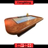 Macau Standard Casino Sic Bo Luxury Casino Craps Poker Table Electronic Poker Table for Casino Club Ym-Si03