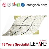 LED Lighting Aluminum PCB Circuit Board with Well Heat Dissipation
