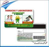 Magnetic Stripe PVC Card (CR80 ISO7816 standard)
