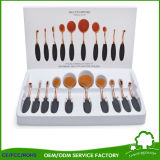 Toothbrush Shape 10PCS Makeup Brush for Cosmetics Makeup Beauty Products
