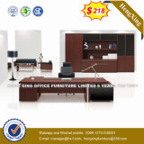 Manager Office Desk Glass Top Check-in Office Furniture (HX-UN018)