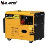 Air-Cooled Silent Type Single Cylinder Diesel Generator Set Three Phases (DG6500SE3)