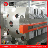 China Industrial Cast Iron Chamber Automatic Filter Press Machine