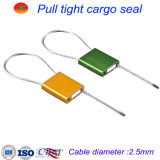 2.5mm Adjustable Galvanized Wire Cable Seal for Truck Container/Tamper Proof Shipping Self-Locking Cable Seal
