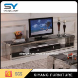 Chinese Furniture Television Set Glass TV Stand in Living Room