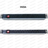 19 Inch India Type Universal Socket Network Cabinet and Rack PDU