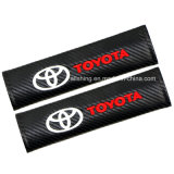 Carbon Fiber Seat Cushion Cover Shoulder Pad for Toyota